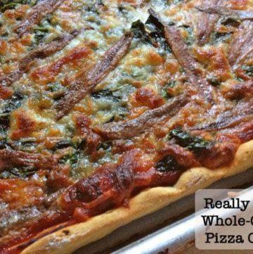 Whole Grain Gluten-Free Pizza Crust.