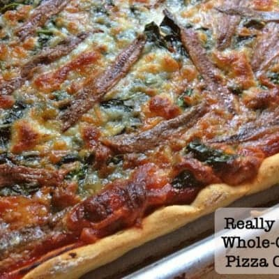 Whole Grain Gluten-Free Pizza Crust.