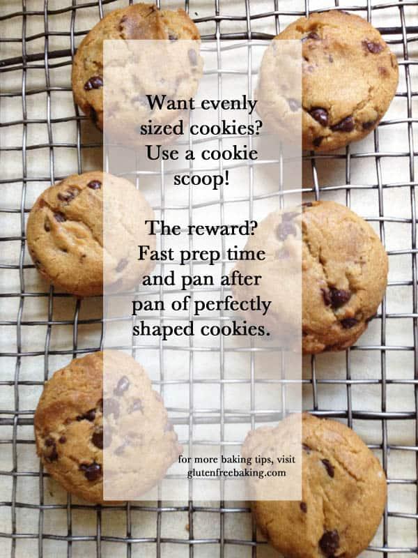 How to Shape Drop Cookies | GlutenFreeBaking.com