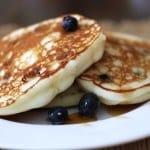 Gluten-Free Blueberry Ricotta Pancakes