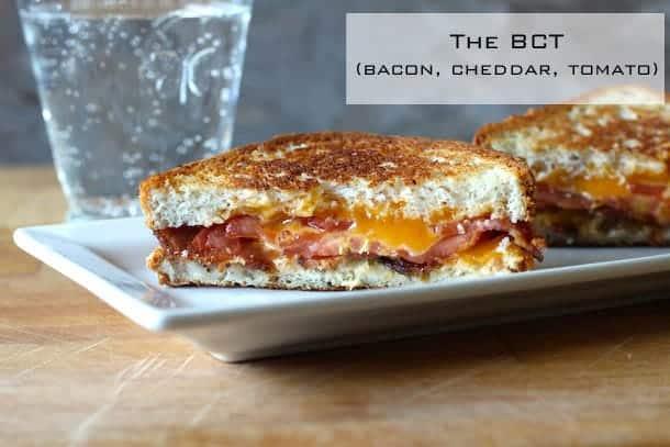 Bacon Cheddar Tomato Sandwich | GlutenFreeBaking.com