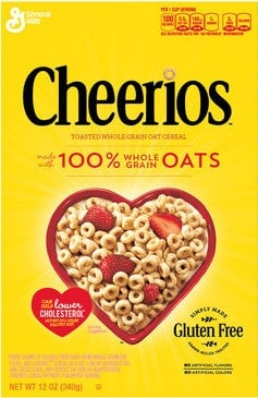 Box of Cheerios.