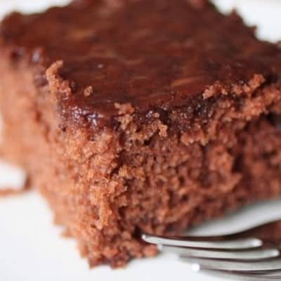 How to Make Gluten-Free Coca Cola Cake | GlutenFreeBaking.com