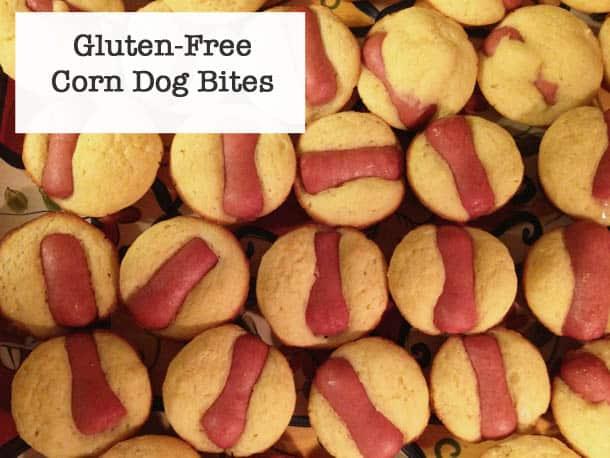 Gluten-Free Corn Dog Bites.