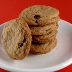 Crispy Gluten-Free Chocolate Chip Cookies.