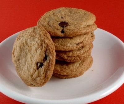 Crispy Gluten-Free Chocolate Chip Cookies.