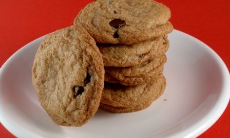 Crispy Gluten-Free Chocolate Chip Cookies