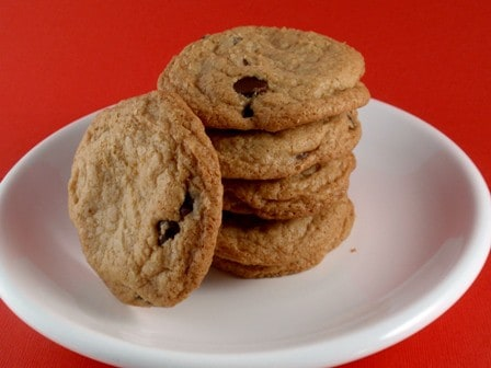 Crispy Gluten-Free Chocolate Chip Cookies | GlutenFreeBaking.com