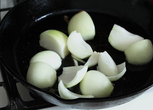 Onions for Paleo Pot Roast