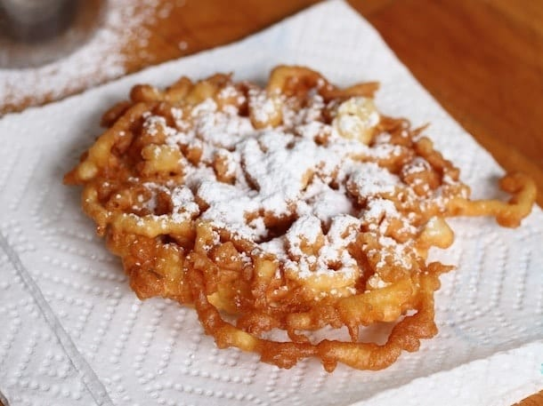 Funnel Cake No Eggs