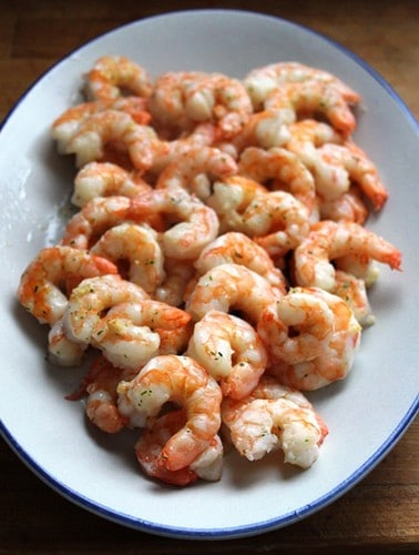 15 Minute Garlic Shrimp | GlutenFreeBaking.com