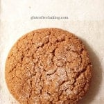 Soft Gluten-Free Molasses Cookies |GlutenFreeBaking.com