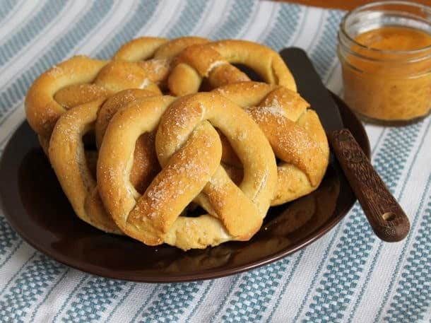 Gluten-Free Soft and Chewy Pretzels