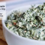 How to Make Homemade Spinach Dip