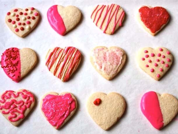 Valentine Chocolate Sugar Cookie Recipes