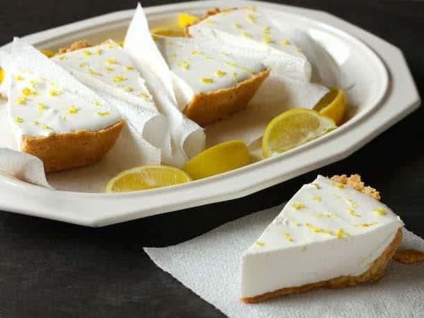 Fluffy Lemonade Pie Gluten Free