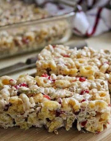 Gluten-Free Apple Cereal Bars