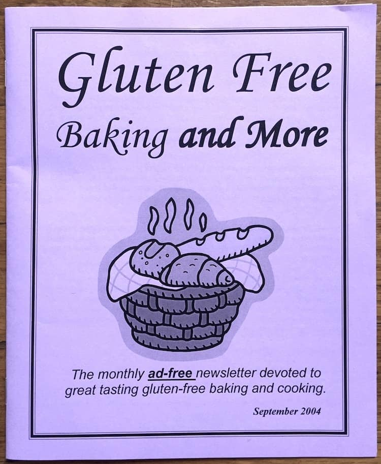 Gluten-Free Baking and More Newsletter