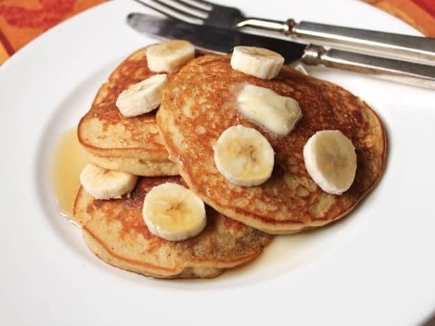 Gluten-Free Banana Pancakes | GlutenFreeBaking.com