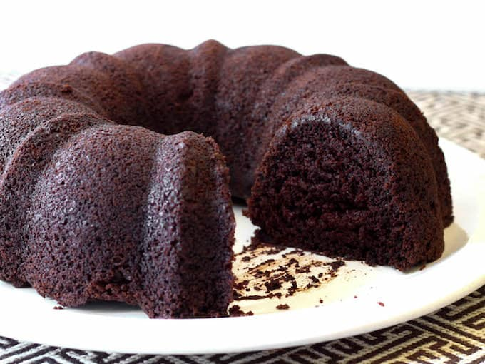 Easy Gluten-Free Chocolate Bundt Cake!