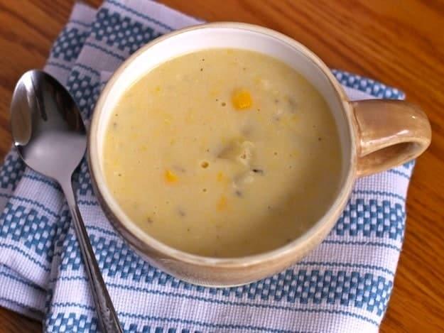 Gluten-Free Corn Chowder |GlutenFreeBaking.com