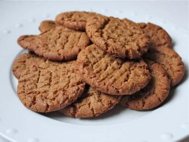 Gluten-Free Flourless Peanut Butter Cookies | GlutenFreeBaking.com