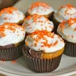 Gluten-Free Marble Pumpkin Cupcakes