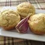 Gluten-Free Onion and Garlic Muffins--These make a great addition to a bread basket!