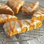 Gluten-Free Pumpkin Scones (Starbucks Copycat Recipe)