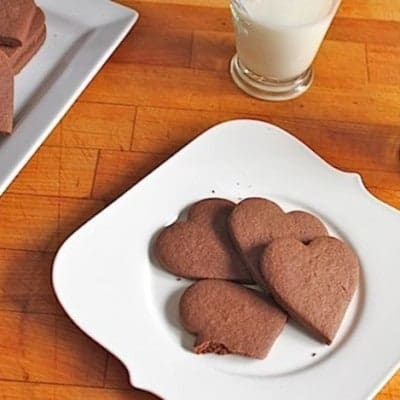 Warm with chipotle, these chocolate cut out cookies are addictingly delicious.