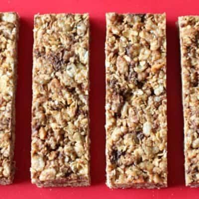 Copycat Recipe: Quaker's Chewy Granola Bars | Gluten-Free