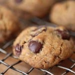Vegan Whole Grain Chocolate Chip Cookies