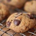 Vegan Gluten-Free Chocolate Chip Cookies--and whole grain too!