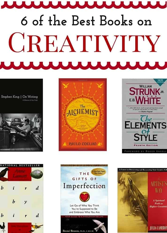 6 Books to give you a creative boost