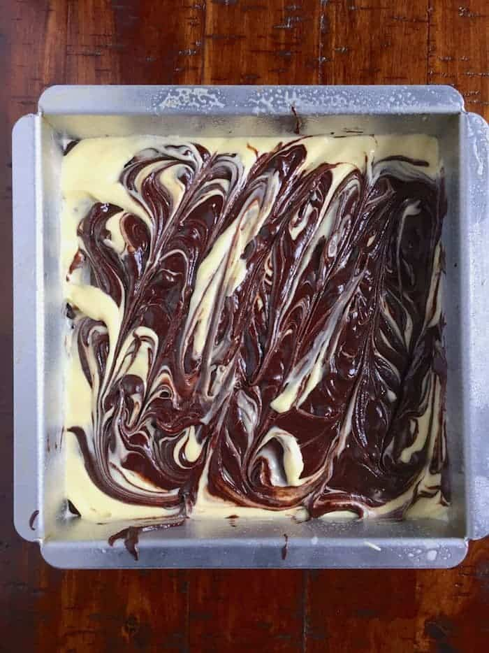 Gluten-Free Cheesecake Brownies 8