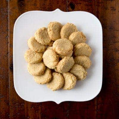 World's Easiest Cookies on a white plate.