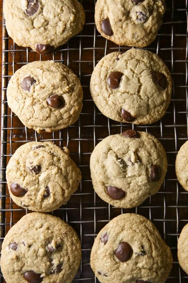 Gluten-Free Chocolate Chip Cookies are easy to make! Loaded with chocolate chips, this recipe makes chocolate lovers very happy!