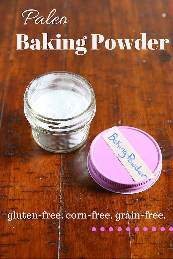 Paleo Baking Powder. Grain-Free. Corn-Free.