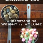 Weight vs. Volume in Baking