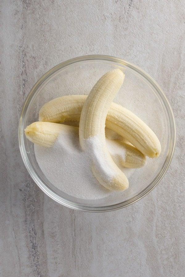Gluten-Free Banana Bread. Easy Recipe for a Moist Banana Bread.