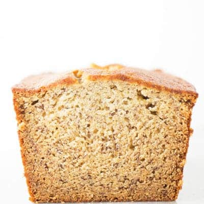 Gluten-Free Banana Bread. Easy Recipe for Moist and Healthy Banana Bread.