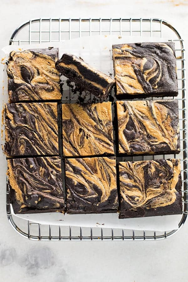 Gluten-Free Peanut Butter Bars are the perfect homemade treat. Loaded with peanut butter and chocolate, these bars are perfect for the peanut butter lover in your life.