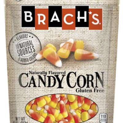 Bag of Brach's gluten-free candy corn.
