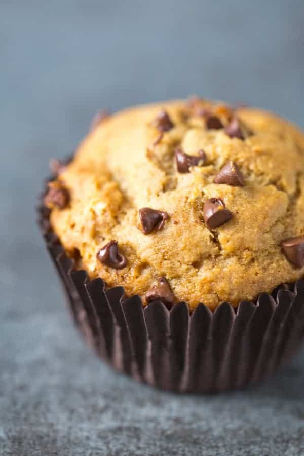 Banana chocolate chip muffins recipe in grams