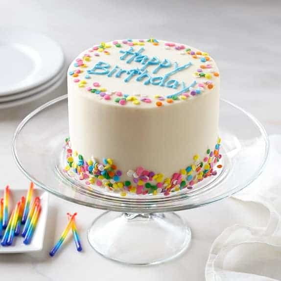 Williams Sonoma Gluten-Free Birthday Cake