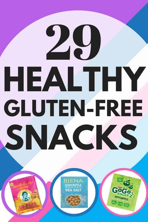 29 Healthy Gluten-Free Snacks