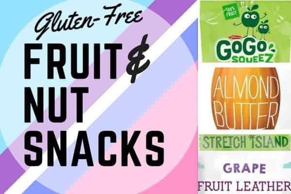 Gluten-Free Fruit and Nut Snacks.