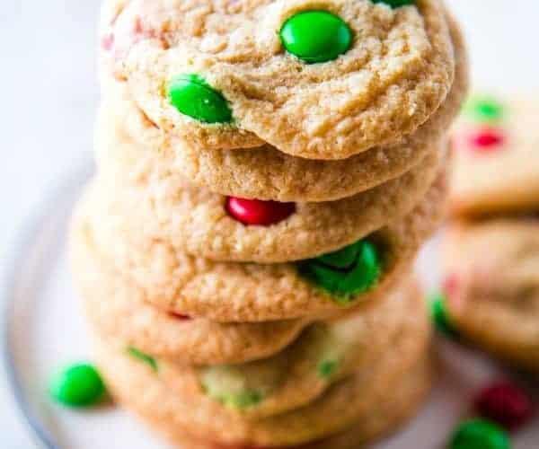 The Best Gluten-Free M&M Cookies