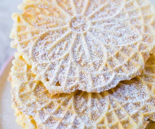 Gluten-Free Pizzelle Recipe: Thin and Crisp Pizzelles