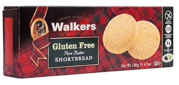 Package of Walkers Gluten-Free Shortbread